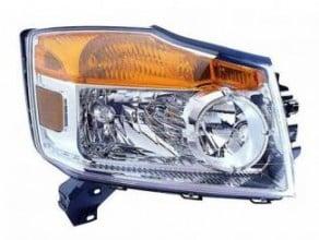 2008-2011 Nissan Armada Headlight Assembly - Right (Passenger)