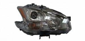 2009-2011 Nissan Maxima Headlight Assembly (Halogen) - Right (Passenger)