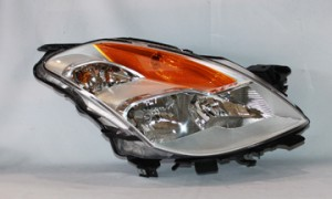 2008-2009 Nissan Altima Headlight Assembly (Coupe / Halogen) - Right (Passenger)