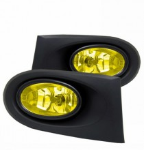 2003 HONDA INTEGRA (U.S. TYPE) FOG LIGHT WITH WIRING KITS AND SWITCH (YELLOW)  (CG Distribution)
