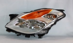 2008-2009 Nissan Altima Headlight Assembly (Coupe / Halogen) - Left (Driver)