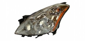 2010-2011 Nissan Altima Headlight Assembly (Sedan / Halogen) - Left (Driver)