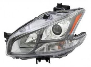 2011-2012 Nissan Maxima Headlight Assembly - Left (Driver)