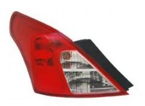 2012-2013 Nissan Versa Tail Light Rear Lamp - Left (Driver)