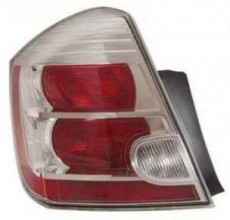 2010-2011 Nissan Sentra Tail Light Rear Lamp (Base / S / SL) - Left (Driver)