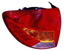 2002 Kia Rio Rear Tail Light Assembly Replacement / Lens / Cover - Left (Driver)