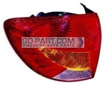 2002-2002 Kia Rio5 Tail Light Rear Brake Lamp - Left (Driver)