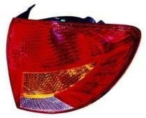 2002 Kia Rio Rear Tail Light Assembly Replacement / Lens / Cover - Right (Passenger)
