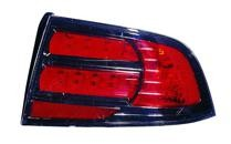 2007 - 2008 Acura TL Tail Light Rear Lamp (Type S Model) - Right (Passenger)