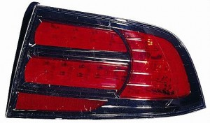 2007-2008 Acura TL Tail Light Rear Brake Lamp (Type S Model) - Right (Passenger)
