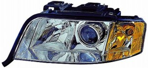 2002-2004 Audi A6 Headlight Assembly - Left (Driver)
