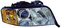 2002 - 2004 Audi A6 Front Headlight Assembly Replacement Housing / Lens / Cover - Right (Passenger)