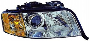 2002-2004 Audi A6 Headlight Assembly - Right (Passenger)