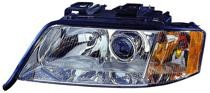 2000 - 2001 Audi A6 Front Headlight Assembly Replacement Housing / Lens / Cover - Left (Driver)