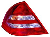 2005 - 2007 Mercedes Benz C240 Rear Tail Light Assembly Replacement / Lens / Cover - Left (Driver)