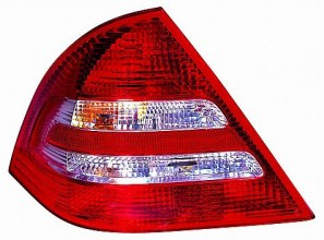 2005-2007 Mercedes Benz C320 Tail Light Rear Lamp - Left (Driver)