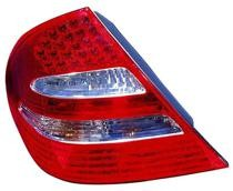 2003 - 2006 Mercedes Benz E55 Rear Tail Light Assembly Replacement / Lens / Cover - Left (Driver)
