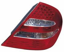 2003 - 2006 Mercedes Benz E55 Rear Tail Light Assembly Replacement / Lens / Cover - Right (Passenger)