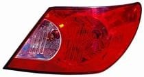 2007 - 2008 Chrysler Sebring Rear Tail Light Assembly Replacement / Lens / Cover - Right (Passenger)