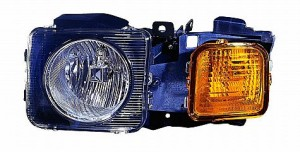 2006-2010 AMG Hummer H3 Headlight Assembly - Left (Driver)