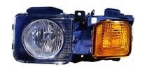 2006 - 2010 AMG Hummer H3 Headlight Assembly - Left (Driver)
