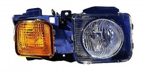 2006-2010 AMG Hummer H3 Headlight Assembly - Right (Passenger)
