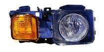 2006 - 2010 AMG Hummer H3 Front Headlight Assembly Replacement Housing / Lens / Cover - Right (Passenger)