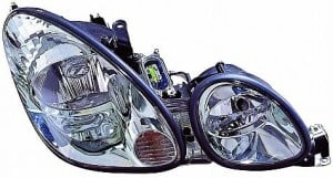 2001-2001 Lexus GS300 Headlight Assembly - Right (Passenger)