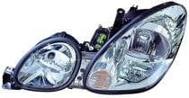 2001 - 2005 Lexus GS300 Front Headlight Assembly Replacement Housing / Lens / Cover - Left (Driver)