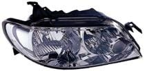 2002 - 2003 Mazda Protege Front Headlight Assembly Replacement Housing / Lens / Cover - Right (Passenger)