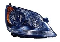 2008 - 2010 Honda Odyssey Front Headlight Assembly Replacement Housing / Lens / Cover - Right (Passenger)