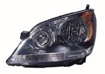 2008 - 2010 Honda Odyssey Front Headlight Assembly Replacement Housing / Lens / Cover - Left (Driver)