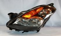 2007-2009 Nissan Altima Headlight Assembly (with Halogen / Sedan) - Left (Driver)