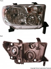 2007-2011 Toyota Tundra Pickup Headlight Assembly - Right (Passenger)