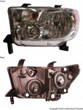 2007-2011 Toyota Tundra Pickup Headlight Assembly - Left (Driver)