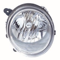 2007 - 2010 Jeep Compass Front Headlight Assembly Replacement Housing / Lens / Cover - Left (Driver)
