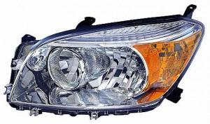 2006-2008 Toyota RAV4 Headlight Assembly (Base/Limited Model) - Right (Passenger)