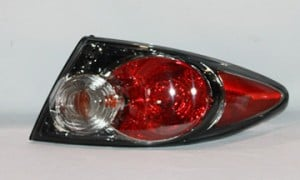 2006-2008 Mazda 6 Mazda6 Tail Light Rear Lamp (Sport Type / without Turbo / Factory Installed / Hatchback / Sedan) - Right (Passenger)