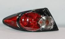 2006 - 2008 Mazda 6 Mazda6 Tail Light Rear Lamp (Sport Type + without Turbo + Factory Installed + Hatchback + Sedan) - Left (Driver)
