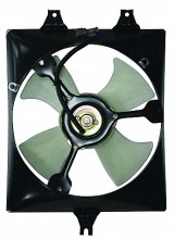 1999-2001 Acura TL Condenser Cooling Fan Assembly