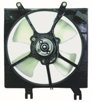 1992 - 1993 Acura Integra Radiator Cooling Fan Assembly