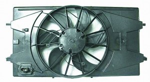 2005-2008 Chevrolet (Chevy) Cobalt Radiator Cooling Fan Assembly