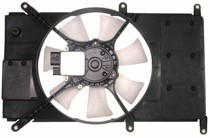 2000 Mitsubishi Eclipse Radiator Cooling Fan Assembly