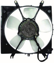 1994 - 1998 Mitsubishi Galant Radiator Cooling Fan Assembly (ES + DE + S)