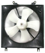 1997 - 2002 Mitsubishi Mirage Radiator Cooling Fan Assembly (1.8L + Automatic + DEPO)