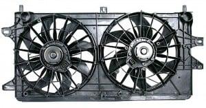 2004-2006 Pontiac Grand Prix Radiator Cooling Fan Assembly
