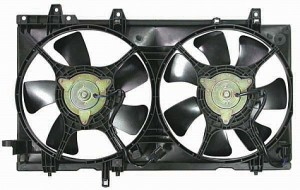 2003-2008 Subaru Forester Radiator Cooling Fan Assembly (With Turbo)