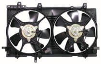 2003 - 2008 Subaru Forester Radiator Cooling Fan Assembly (With Turbo)