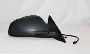 2008-2012 Chevrolet Chevy Malibu Side View Mirror (LS Model / Power Remote / Non-Heated / Black) - Right (Passenger)