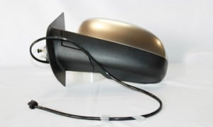 2007-2011 Chevrolet Chevy Suburban Side View Mirror (Power Remote / Heated / Chrome / without Courtesy Lamp / with Off-Road Package) - Left (Driver)